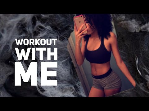 WORKOUT WITH ME AT HOME!   GIVEAWAY!!
