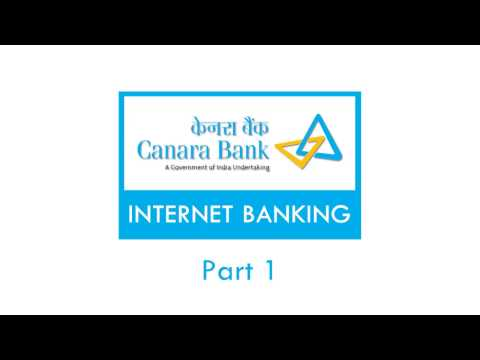 Canara Bank Internet Banking Self Activation Tutorial Guide Part 1