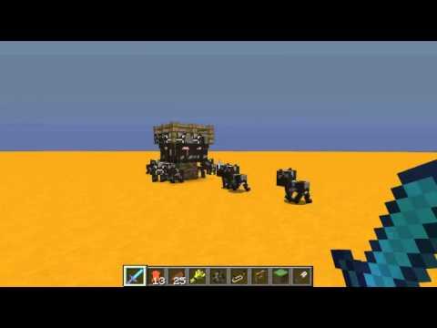 Minecraft snapshot 1 8   Akta dig för korna! 14w02c 2 #Minecraft