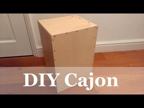 DIY Handmade Cajon