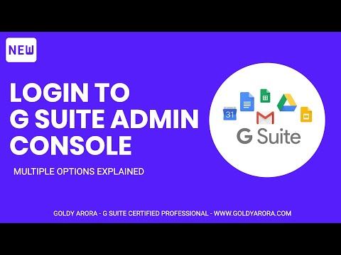 How to login to G Suite admin console - 3 smart ways