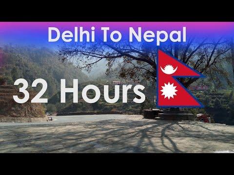 Delhi to Nepal Roadways Bus ( Delhi to Bhaktapur )