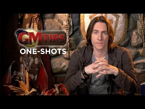 Write One-Shot RPG Campaigns! (GM Tips w/ Matt Mercer)