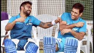 Ms Dhoni Funny Moments in dressing room