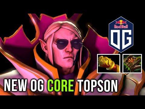 New Invoker Meta Monkey King Bar + Necronomicon Carry by new OG Core Topson Dota 2