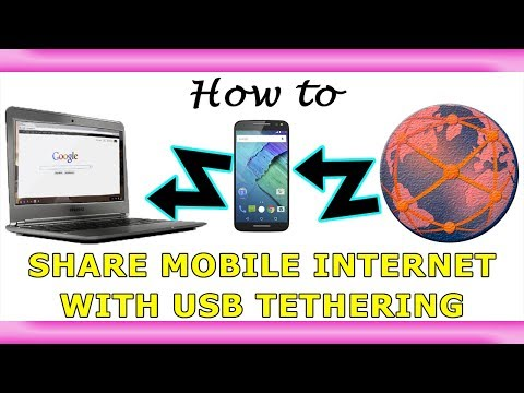 Share Mobile Internet with Bluetooth Tethering