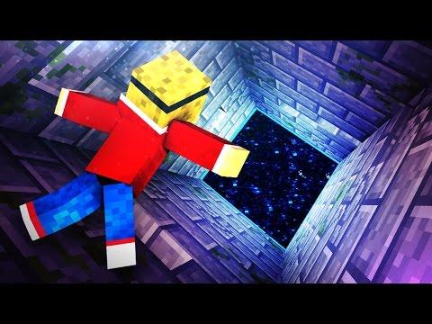 END PORTAL PIT TRAP! - Minecraft Tutorial