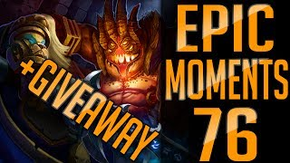 ⚡️Heroes of the Storm | Epic Moments #76 +GIVEAWAY