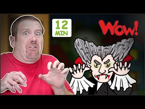 Halloween Songs + MORE Stories for Children | Halloween from Steve and Maggie Wow | English TV