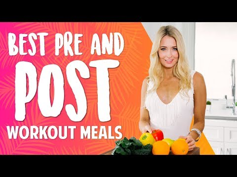 Best Pre and Post Workout meals