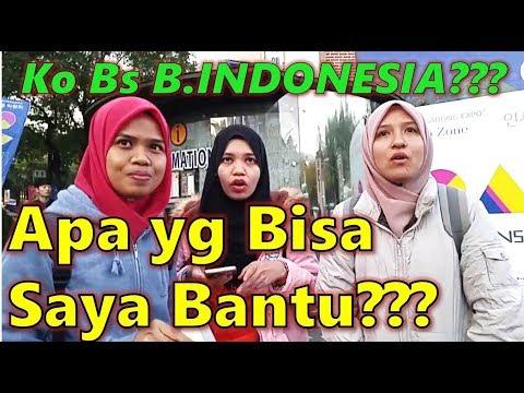 Orang Korea Bantu Orang Malaysia Yang Nyasar Pakai Bahasa INDONESIA