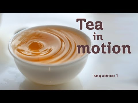Tea in Motion - The Beauty of Brewing (sequence 1)