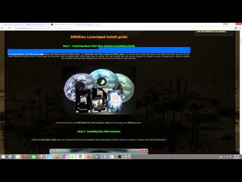 How to get Star Wars Galaxies emulator without CD
