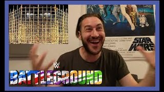 REACTION - JINDER MAHAL VS RANDY ORTON - PUNJABI PRISON MATCH FOR WWE CHAMPIONSHIP WWE BATTLEGROUND