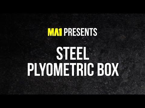MA1 Steel Plyometric Boxes