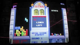 Trying Atari and Sega's Tetris (Arcade version) [Twitch