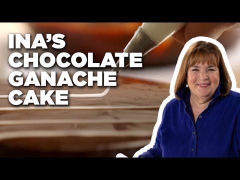 Ina's Chocolate Ganache Cake | Food Network
