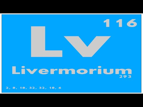 STUDY GUIDE: 116 Livermorium | Periodic Table of Elements