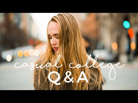 COLLEGE Q&A - PARTYING, DINING HALLS & MORE