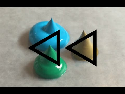 REVERSE Acrylic Paint Colour Mixing - #1 (TEAL)