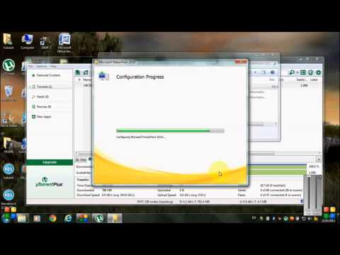 How to Download and Install PowerPoint 2010+How to download uTorrent