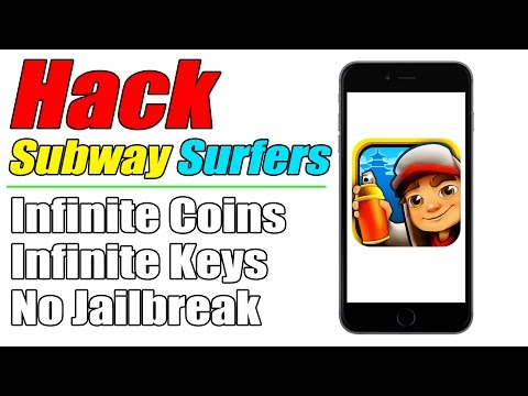How To Hack Subway Surfers No Jailbreak 2015 | Infinite Coins & Keys