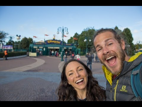 VANLIFE EUROPE: DisneyLand Paris + Ferry from Calais to Dover (Part 2 Ep. 13)