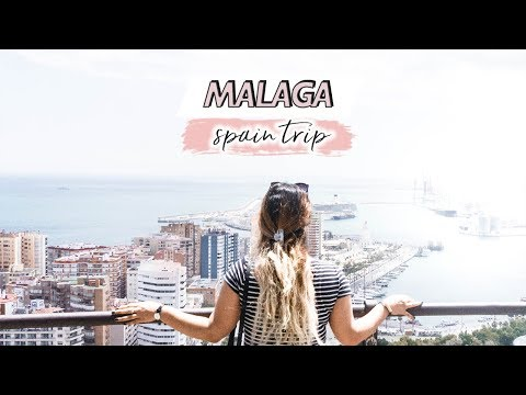Malaga, Spain   Summer Europe Trip 2017 Vlog   Isabel Velazquez