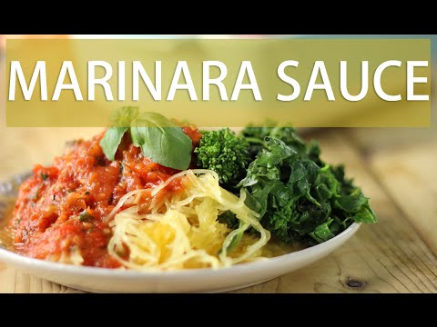 Easy Marinara Pasta Sauce | Healthy Pasta Sauce Recipe