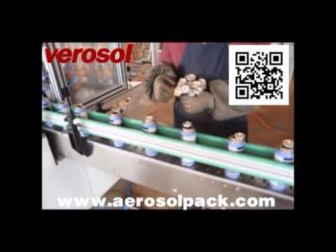 Automatic Aerosol Filling Machine For Turkey Client