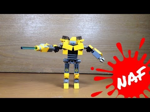 LEGO Transformers Mini Bumblebee - Review + Build Tutorial