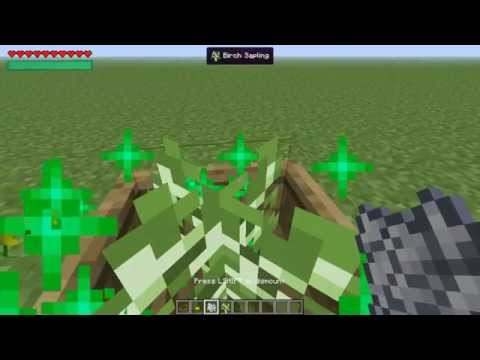 How to make a wooden flower and tree pot on Vanillia Minecraft