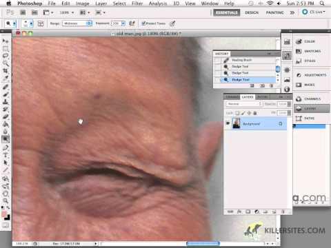 Photoshop CS5 - Healing Brush Tool