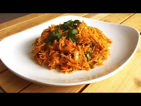 Vermicelli Pulao  Breakfast/Brunch Recipe  Vegetarian/Vegan