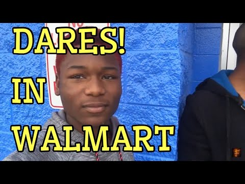 DOING DARES IN WALMART (AND THIS IS WHAT HAPPEND)