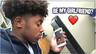 """Asking My """"Crush"""" To Be My Girlfriend PRANK"""