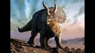 Dinosaurs for kids 3 - Triceratops