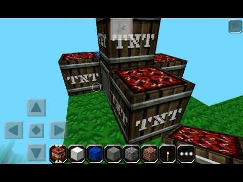 Minecraft pe TNT zünden in Creative