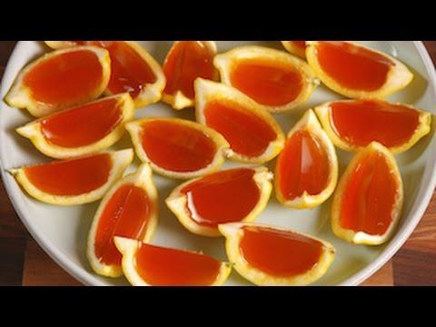 Sweet Tea Jell-o Shots | Delish