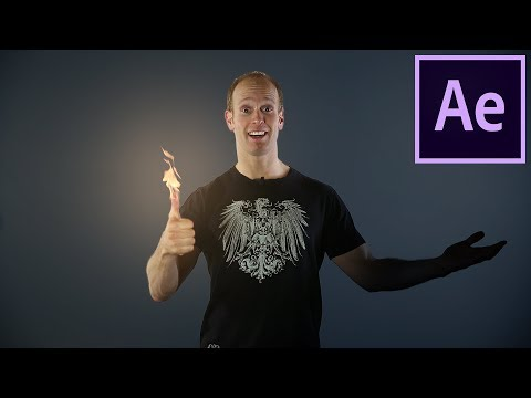 FIRE HANDS VFX - How to Create Fire with your Hands in After Effects