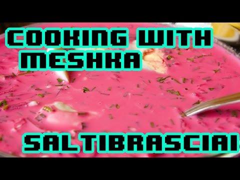 Lithuanian Cold Beet Soup (Šaltibarščiai) Recipe - Cooking with DAIKON Ep. 01