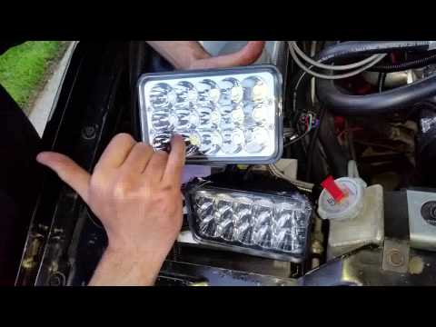 Oracle LED Headlight Installation - How To Wire