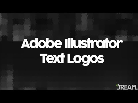 Adobe Illustrator CS5 Tutorial 9 | Text Logos