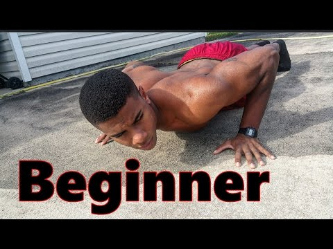 Beginner Home Calisthenics Push Workout Routine ( Chest Triceps )