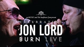 Celebrating Jon Lord Burn Dickinson Hughes Paice Airey  Wakeman Official Video Preview