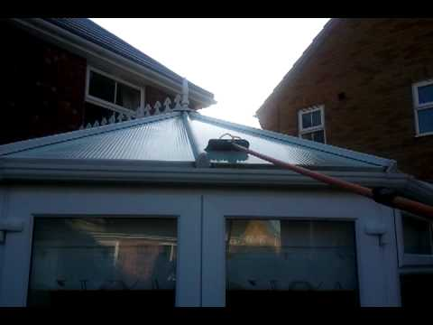 Window cleaning in lincoln - how to clean a conservatory roof