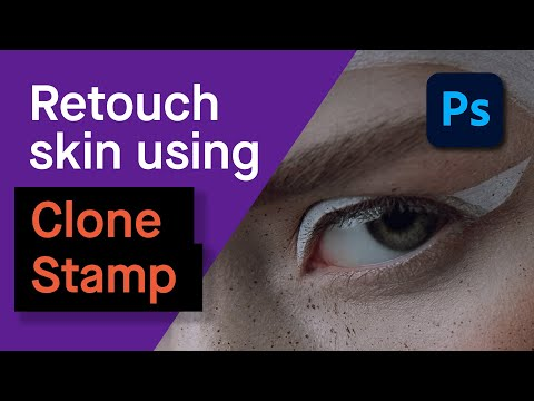 Photoshop | How to Clean Skin with the Clone Stamp Tool