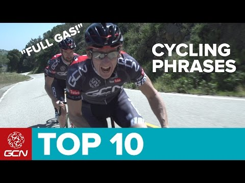 Top 10 Common Cycling Phrases