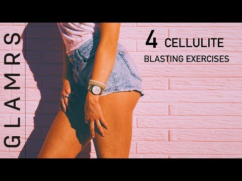Cellulite Removal Exercises - Get Rid of Cellulite on Butts, Thighs and Legs | No Gym Workout