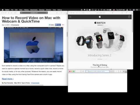 Window Snapping in Mac OS is Easy